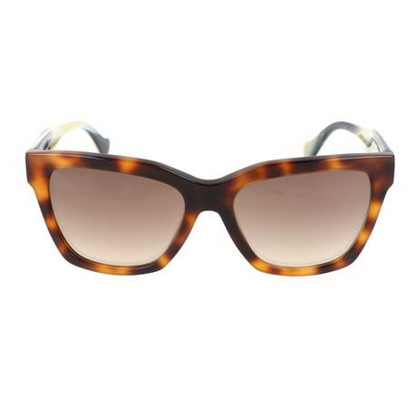 Women's BA0098 Sunglasses // Blonde Havana