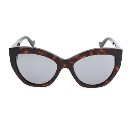 Women's BA0103 Sunglasses // Dark Havana