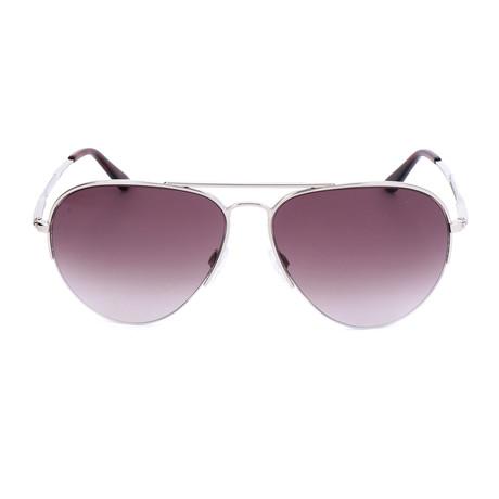 Unisex BA0125 Sunglasses // Shiny Palladium