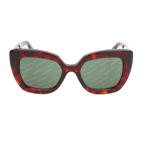 Women's BA0130 Sunglasses // Red Havana