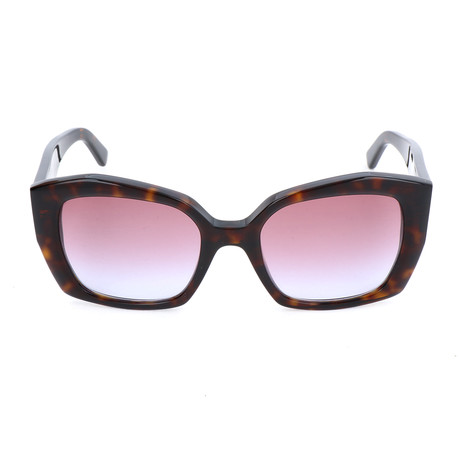 Women's BA0131 Sunglasses // Dark Havana + Purple