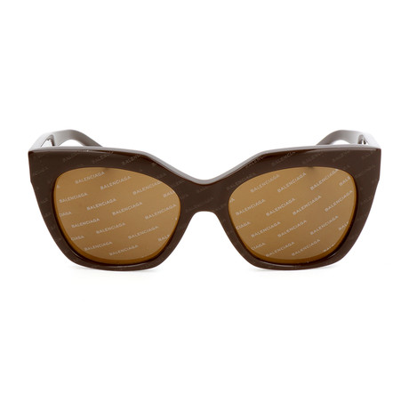 Women's BA0132 Sunglasses // Dark Brown