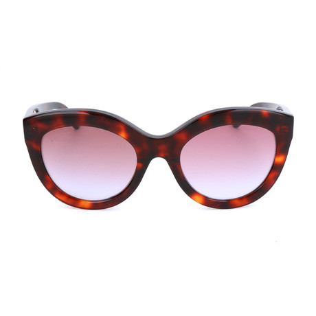Women's BA0133 Sunglasses // Red Havana
