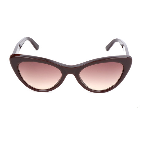 Women's BA0143 Sunglasses // Shiny Dark Brown