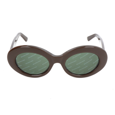 Women's BA0145 Sunglasses // Shiny Dark Brown