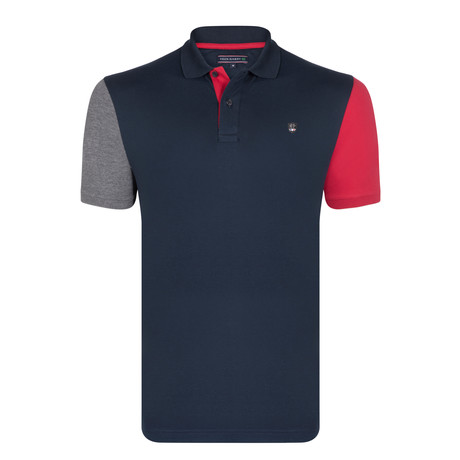 Aiden SS Polo Shirt // Navy (S)