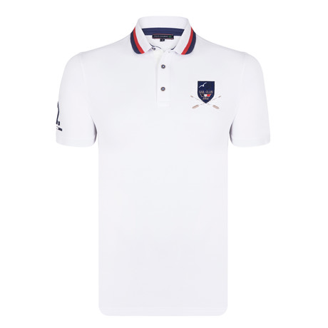 Blake SS Polo Shirt // White (S)