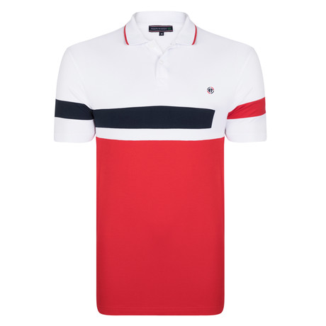 Dexter SS Polo Shirt // Red (S)