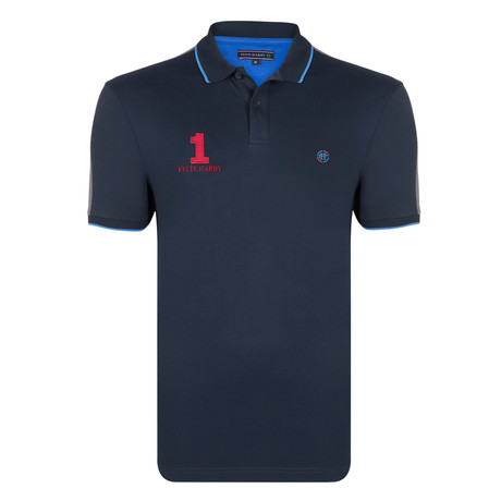 Liam SS Polo Shirt // Navy (S)