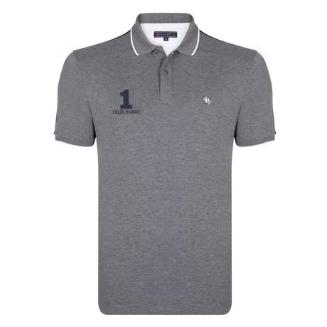 Calum SS Polo Shirt // Antra Melange (S)