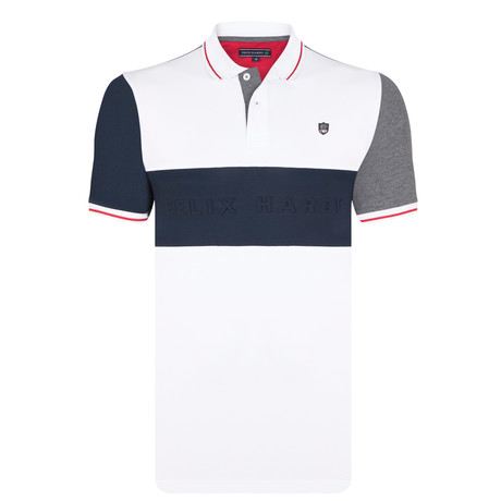 Elliott SS Polo Shirt // White (S)