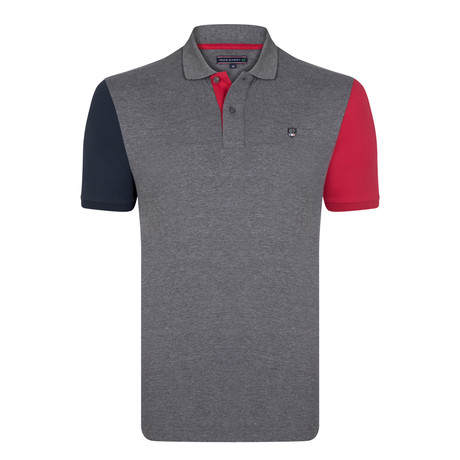 Connor SS Polo Shirt // Antra Melange (S)