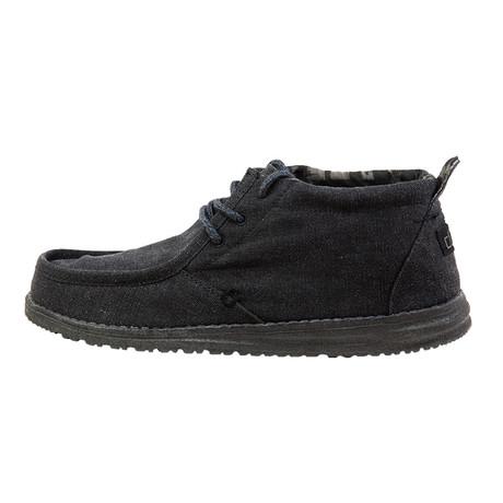 Conrad High-Top Boat Shoes // Black (US: 7)