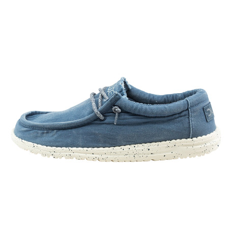 Wally Washed Slip-On // Steel Blue (US: 7)