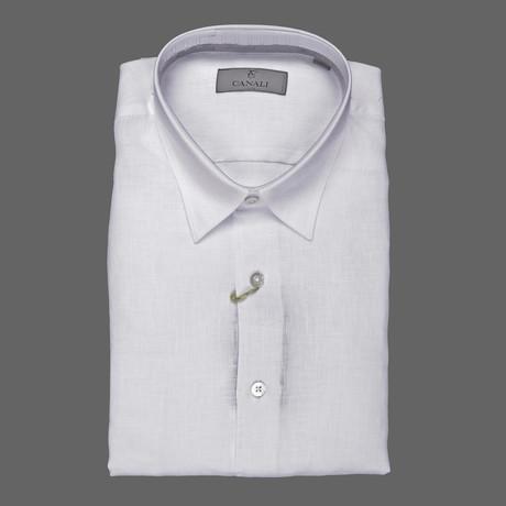 Regular Dress Shirt // White (S)