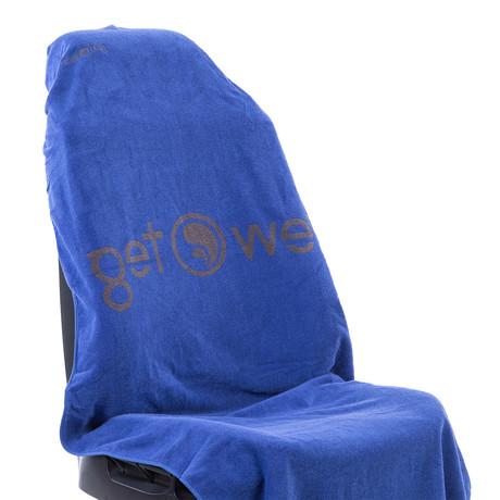 Tew Teg Towel // Blue + Grey