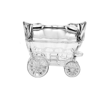 Cinderella Chariot Crystal Small Box Figurine