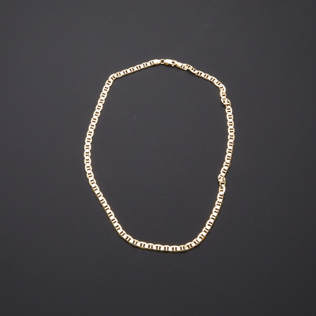 "Mariner Link Chain Necklace // 5.75mm (22"")"