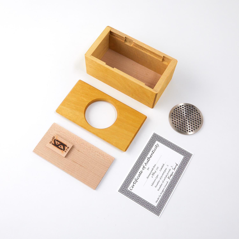 Limited Edition Honeycomb Maze Box