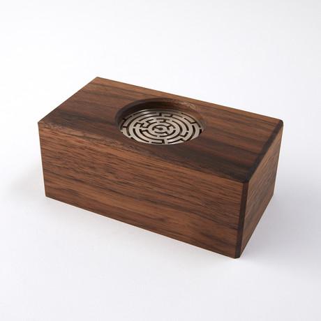 Walnut Maze Box // Easy Difficulty