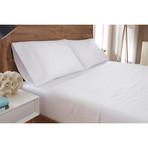 Luxury Supima Cotton + Tencel Sheets // White (Full)