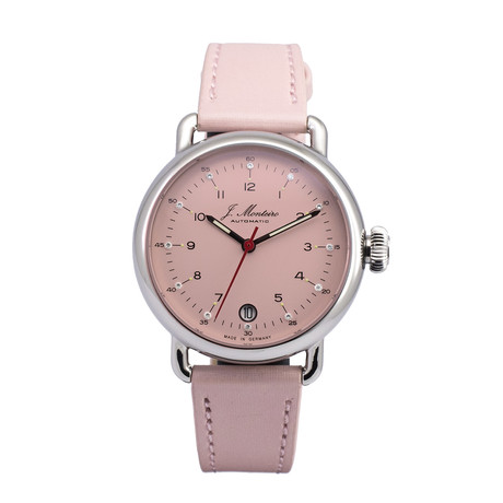 Jeremy Monteiro Elegancia 36 Pastel Pink Automatic // JM36-3