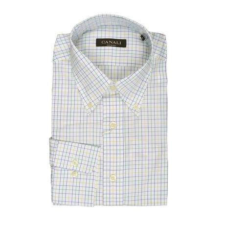 Geometric Regular Shirt // Multicolor (Euro: 41)