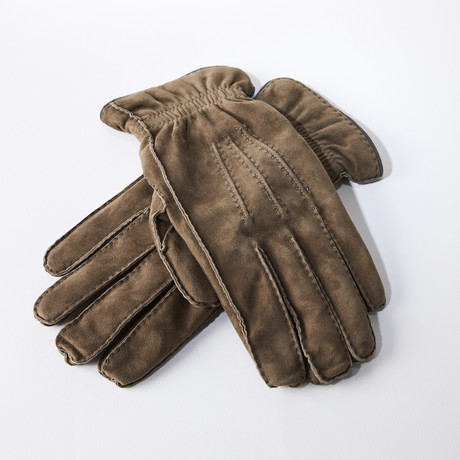 Leather Gloves // Tan