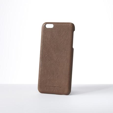 Phone Case // Brown // iPhone 8 Plus