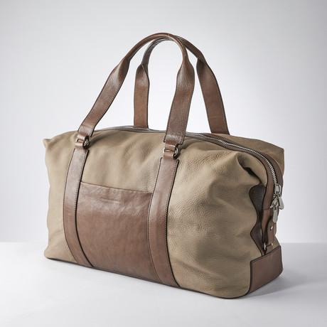 Duffle Bag // Tan
