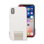 SNAP! iPhone Camera Case // White (iPhone X)