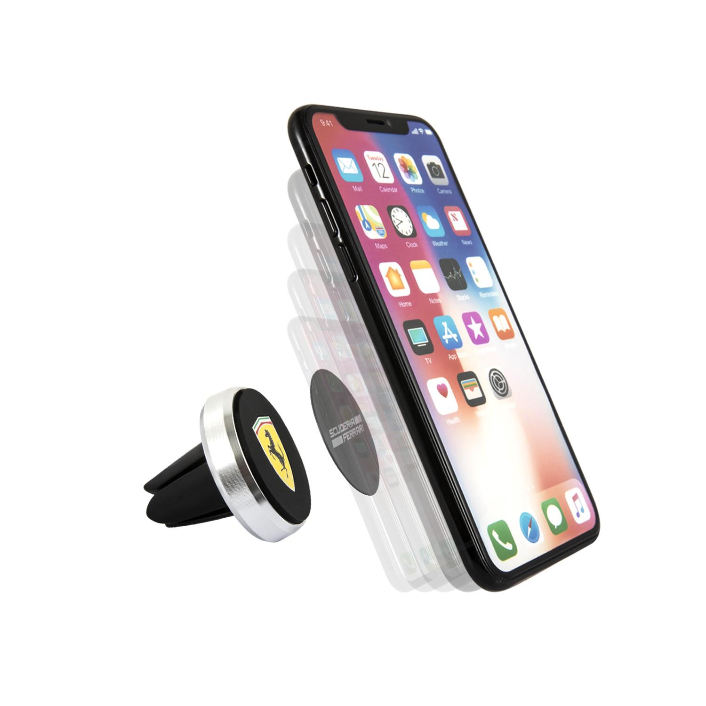 CG Mobile Ferrari Magnetic Car Phone Holder Suction Cup Mount Black