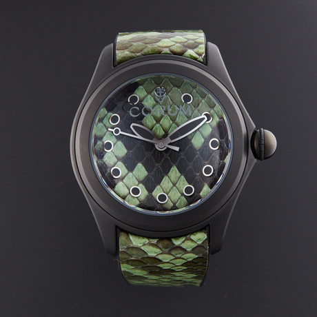 Corum Bubble Green Python Automatic // L082/03192