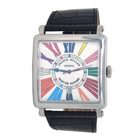 Franck Muller Master Square Color Dream Automatic // 6000KSCDT // Pre-Owned