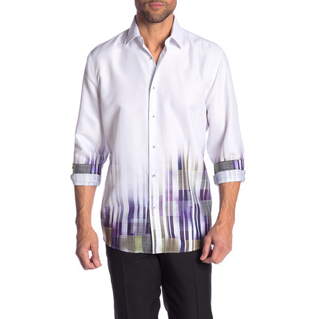 Jae True Modern-Fit Long-Sleeve Dress Shirt // Multi (S)