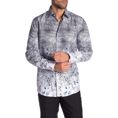 Lupe True Modern-Fit Long-Sleeve Dress Shirt // Multi (S)