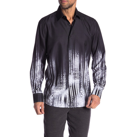 Werner True Modern-Fit Long-Sleeve Dress Shirt // Multi (S)