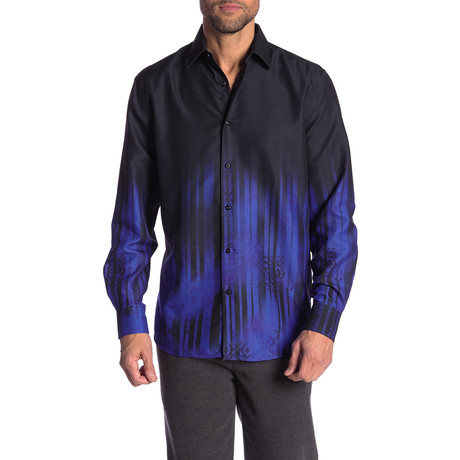 Lanny True Modern-Fit Long-Sleeve Dress Shirt // Multi (S)