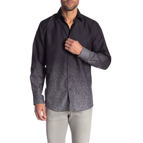 Harold True Modern-Fit Long-Sleeve Dress Shirt // Multi (S)
