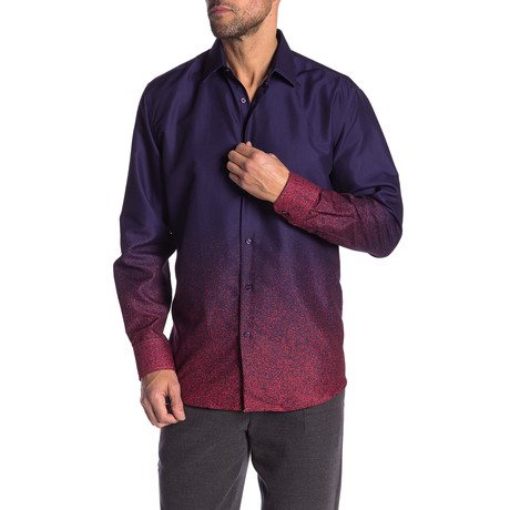 Edison True Modern-Fit Long-Sleeve Dress Shirt // Multi (S)