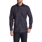 Evan True Modern-Fit Long-Sleeve Dress Shirt // Multicolor (M)