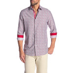 Raymond True Modern-Fit Long-Sleeve Dress Shirt // Multicolor (L)