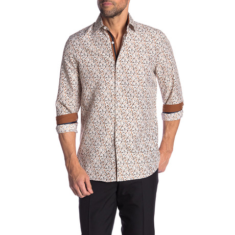 Owen True Modern-Fit Long-Sleeve Dress Shirt // Multicolor (S)