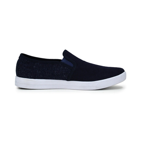 Skid X Slip-On // Navy (Euro: 41)
