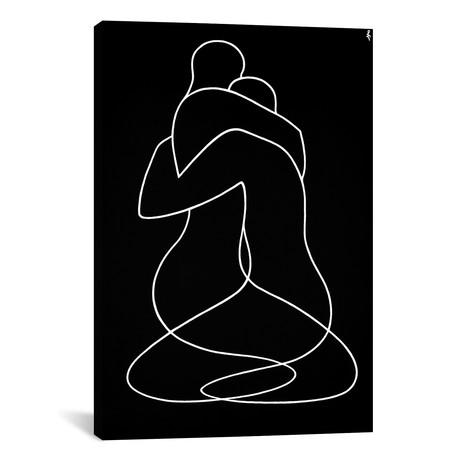 """Embrace // Lia Chechelashvili (12""""W x 18""""H x 0.75""""D)"""