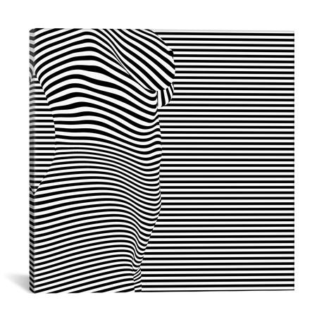 "Body II by Seb Whatshisname (18""W x 18""H x 0.75""D)"