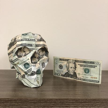 Money Skull // $20