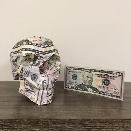 Money Skull // $50