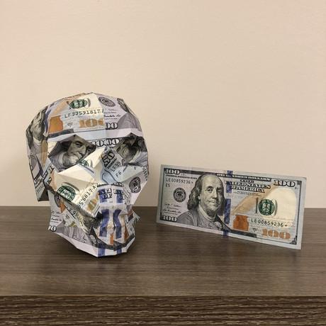 Money Skull // $100