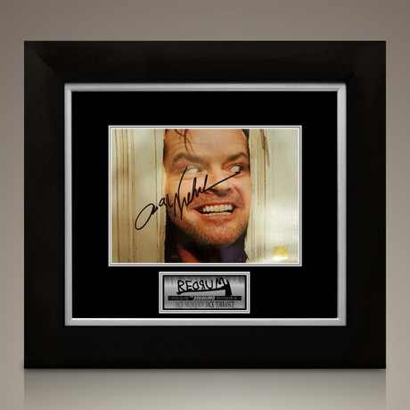 The Shining // Jack Nicholson Signed Photo // Custom Frame